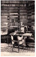THEME - BIBLIOTHEQUE  - La Bibliothèque Du Château De Combourg --- - Bibliothèques