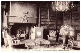 THEME - BIBLIOTHEQUE  - La Bibliothèque Du Château De Josselin -- - Bibliothèques