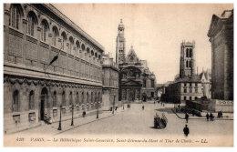 THEME - BIBLIOTHEQUE  - La Bibliothèque Saint Genevieve De Paris ---- - Bibliothèques