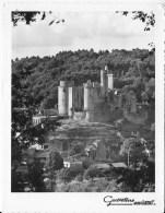 Format CPSM 24 Le Chateau De Bonaguil - Advertising