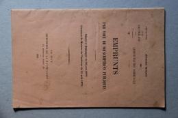 """Plaquette """"Emprunts Par Voie De Souscriptions Publiques"""" 1926 - Andere"""