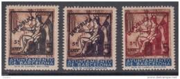 AYUNTAMIENTO DE BARCELONA - * NE22/NE24 - AÑO 1936 - DIFÍCIL SERIE DE LUJO - Barcelona