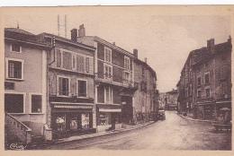 Ambérieu En Bugey - Montée De La Croze (commerces, Fontaine) Circulé Sans Date, Sous Enveloppe - Autres Communes