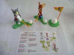 MAXI KINDER : TOM Et JERRY GOLF - N° 3k 98 N°10 - Détails Sur Le Scan - Maxi (Kinder-)