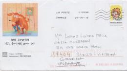 3012  Carta    Entero Postal Francia 2016 - Enteros Postales