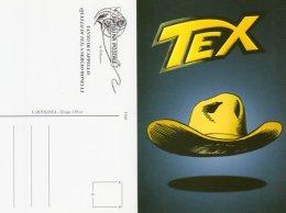 Tanto Di Cappello ( Quello Di Tex ) A Sergio Bonelli - - Comicfiguren