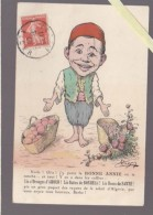Humour Algerie - Chagny - Bonne Année : Oranges D'amour, Dattes De Bonheur, Roses De Santé - Humour