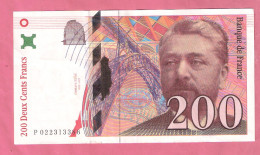 FRANKRIJK 200 FRANCS 1996 P159 - 1962-1997 ''Francs''