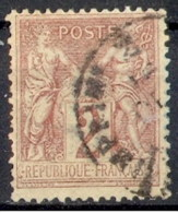 France Y&T 85       Maury 85 IIC - 1876-1898 Sage (Type II)