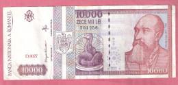 ROEMENIE 10000 LEI 1994 P105 - Roumanie