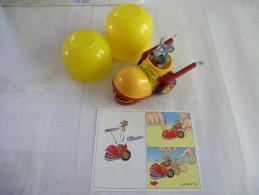 MAXI KINDER : VOITURE à FRICTION - N° 3k 04 N°16 - Détails Sur Le Scan - Maxi (Kinder-)