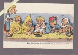Humour Algerie - Chagny - Clients Du Café Maure - Humour
