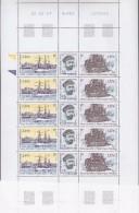TAAF 2003 Centenaire Du Depart Du Francais Strip 3v* Complete Sheetlet * Mnh (F5186) - Blokken & Velletjes