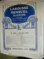 LAROUSSE 1931 N°296 ANDREE BOLDINI CARROSSERIES CHAFFAULT CULTURE SOUS PAPIER DOUMER LAPICQUE LEGION ETRANGERE ST LAZARE - Encyclopédies