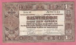 NEDERLAND 1 GULDEN 1938 ZILVERBON - [2] 1815-… : Regno Dei Paesi Bassi