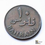 Bahrein - 10 Fils - 1965 - Bahrain