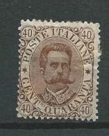 Italie - 1889 - Y&T 41 - Oblitéré - 1878-00 Umberto I