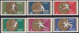 Hongarije - Medaillengewinne Der Ungarischen Mannschaft - Mexiko-Stadt - MNH - M 2477A-2484A - Zomer 1968: Mexico-City