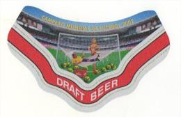 Cerpa (Brésil) - Campeao Mundial De Futebol 2002 (étiquette En Papier Aluminium) - Birra