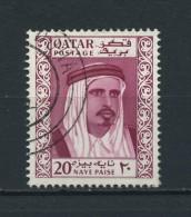 QATAR    1961    20np  Reddish  Purple    USED - Qatar