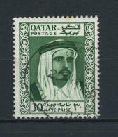 QATAR    1961    30np  Deep  Green    USED - Qatar