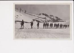 06 Plan Caval Chasseurs Alpins Chasseur Alpin Sports D´ Hiver Environs De Peira Cava - Autres Communes