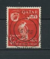 QATAR    1961    40np  Red    USED - Qatar