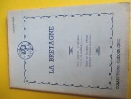 Collections Chéque-Chic/Géographie/La BRETAGNE/10 Aquarelles Ledoux/Texte Faure/Cémoi/Lustucru/vers 1950-1960   ALB20 - History