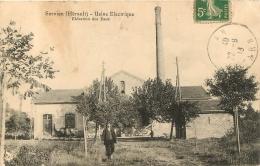 SERVIAN USINE ELECTRIQUE ELEVATION DES EAUX - France
