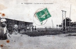 17 Marennes La Gare De La Cayenne Seudre 1916 - Marennes