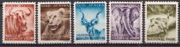 South Africa MLH Animals Stamps, Kruger National Park Cinderellas - Giraffes