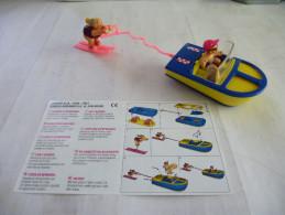 MAXI KINDER : BATEAU Et SKI NAUTIQUE - 3K 01 N° 8 - Détails Sur Le Scan - Maxi (Kinder-)
