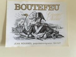 0502- Boutefeu  Suisse  Savuit  Canon - Militaire