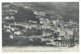 CPA  - MONTE CARLO  VUE GENERALE DE BEAU SOLEIL - Monaco - Monte-Carlo