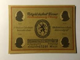 Allemagne Notgeld Weimar 25 Pfennig 1921 NEUF - Collections