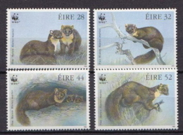 Ireland MNH Animals Set - W.W.F.