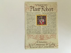 0514-  Suisse  Villette Plant-Robert   Domaine  De La Commune De Cully Réserve Des Conseillers - Etiquettes