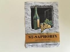 """0515-  Suisse  St-Saphorin """"Soufflons Un Peu"""" Réserve De La Fanfare Chexbres - Musique"""
