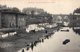V3352 Cpa 87 Limoges - Clos Sainte Marie Et Pont Neuf - Limoges