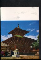 Q1013 ASIA, NEPAL - CHANGU NARAYAN TEMPLE - WRITED - COURTESY: DEPT. OF INFORMATION, HMG - Nepal