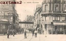 ROUEN RUE ST-SEVER ANIMEE 76 - Rouen