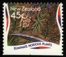 New Zealand Nouvelle-Zélande Neuseeland 1995. ** MNH. Noxious Toxic Plants Plantes Nuisibles Schadpflanzen - Toxic Plants