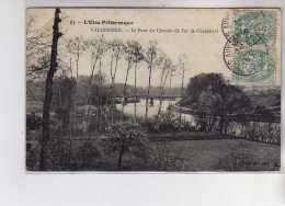 VALHERMEIL - Le Pont Du Chemin De Fer De Chaponval - Très Bon état - France