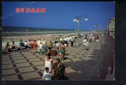 Q1050 De Haan - Zeedijk - Digue De Mer - ECRITE - De Haan