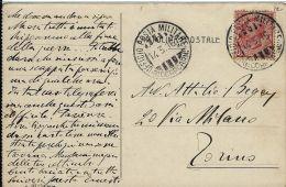 FRANCHIGIA POSTA MILITARE 3 CORPO ARMATA 1916 BRESCIA X TORINO - 1900-44 Vittorio Emanuele III