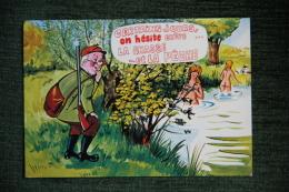 Humour - Certains Jours On Hésite Entre La Chasse Et La Pêche - Hunting