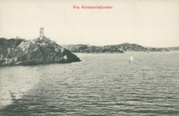 NO CHRISTIANA / Fra Kristianiafjorden / - Noruega