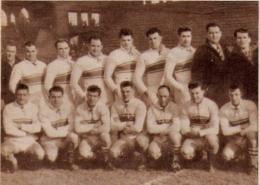 Rugby à XIII BORDEAUX  1954 - Unclassified