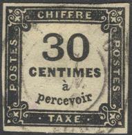 # France  J   7,  Used, VF, Sound   (frj007-1, Michel  Portofrei 8,    [16-ABE - Postage Due