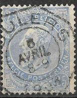 6Bz-873: N°  60-tab: ROULERS.  Telegraaf - 1893-1900 Fine Barbe